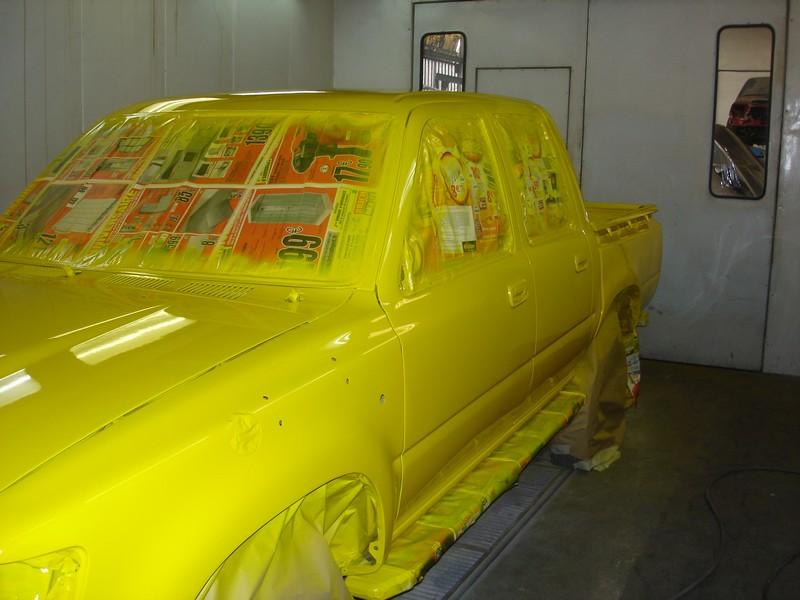 Toyota hilux peinture3